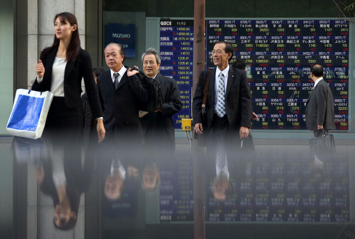 Chứng khoán châu Á giảm do đồn đoán Fed cắt giảm QE
