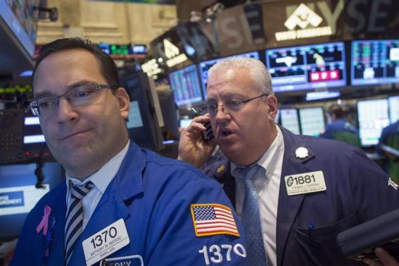 Chứng khoán Mỹ giảm do đồn đoán về thời điểm cắt giảm QE