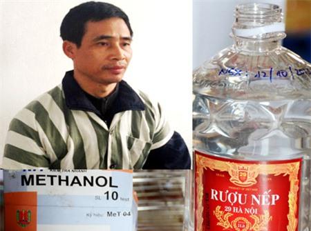 Rượu nếp 29 Hà Nội = 30% cồn + 70% nước + hương liệu