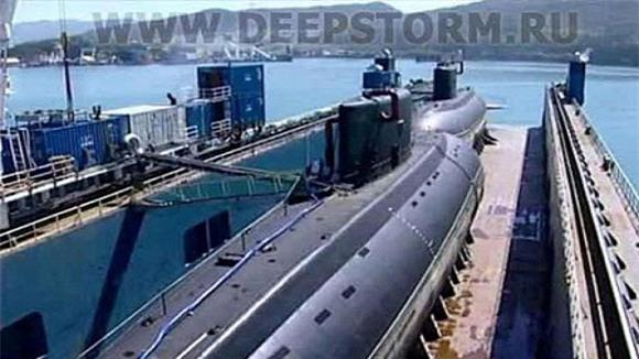 Tàu ngầm Kilo Hà Nội đang tiến vào Biển Đông