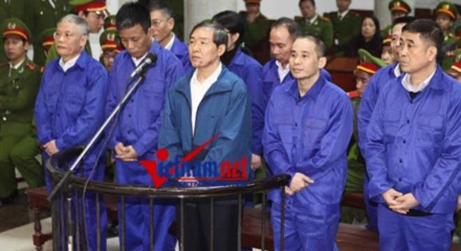 Đang xét xử Dương Chí Dũng và đồng phạm