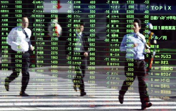 Chứng khoán châu Á chạm đáy 2 tháng rưỡi do lo ngại Fed cắt giảm QE