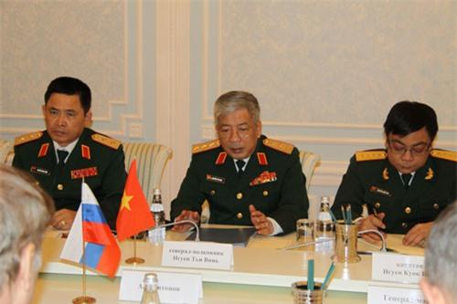 Đối thoại chiến lược quốc phòng Việt-Nga lần thứ nhất