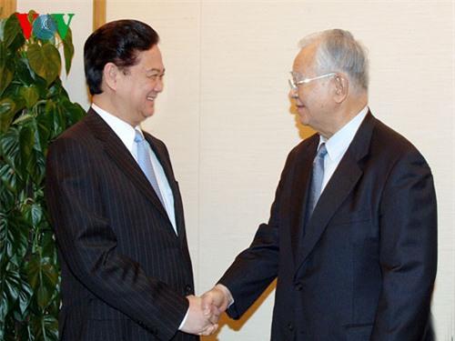 Thủ tướng tiếp Chủ tịch Liên đoàn Kinh tế Nhật Bản
