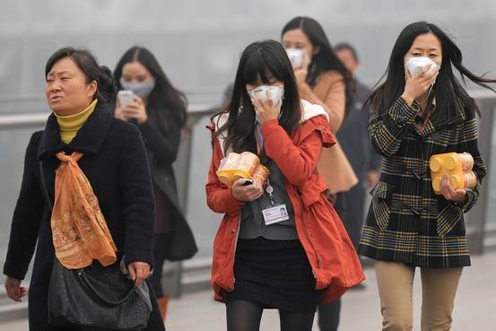 Sương mù ô nhiễm làm mờ mịt triển vọng của  Thượng Hải