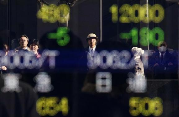 Chứng khoán châu Á giảm do lo ngại Fed cắt giảm QE