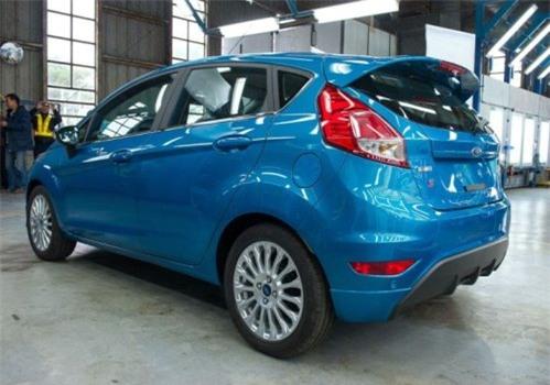 Ford chính thức xuất xưởng Fiesta mới