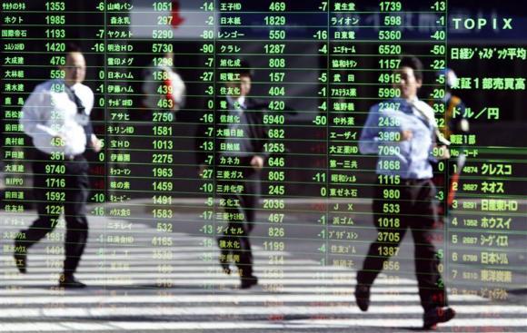 Chứng khoán châu Á tăng trước thềm cuộc họp của Fed