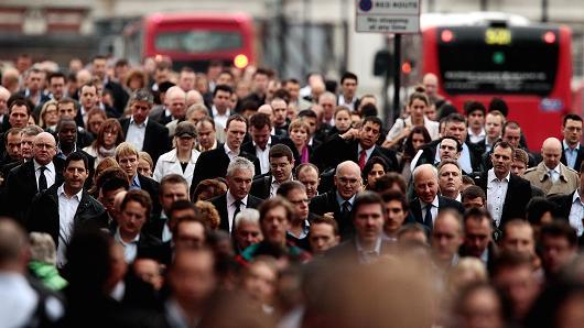 Tỷ lệ thất nghiệp tại Anh giảm xuống thấp nhất 4 năm rưỡi