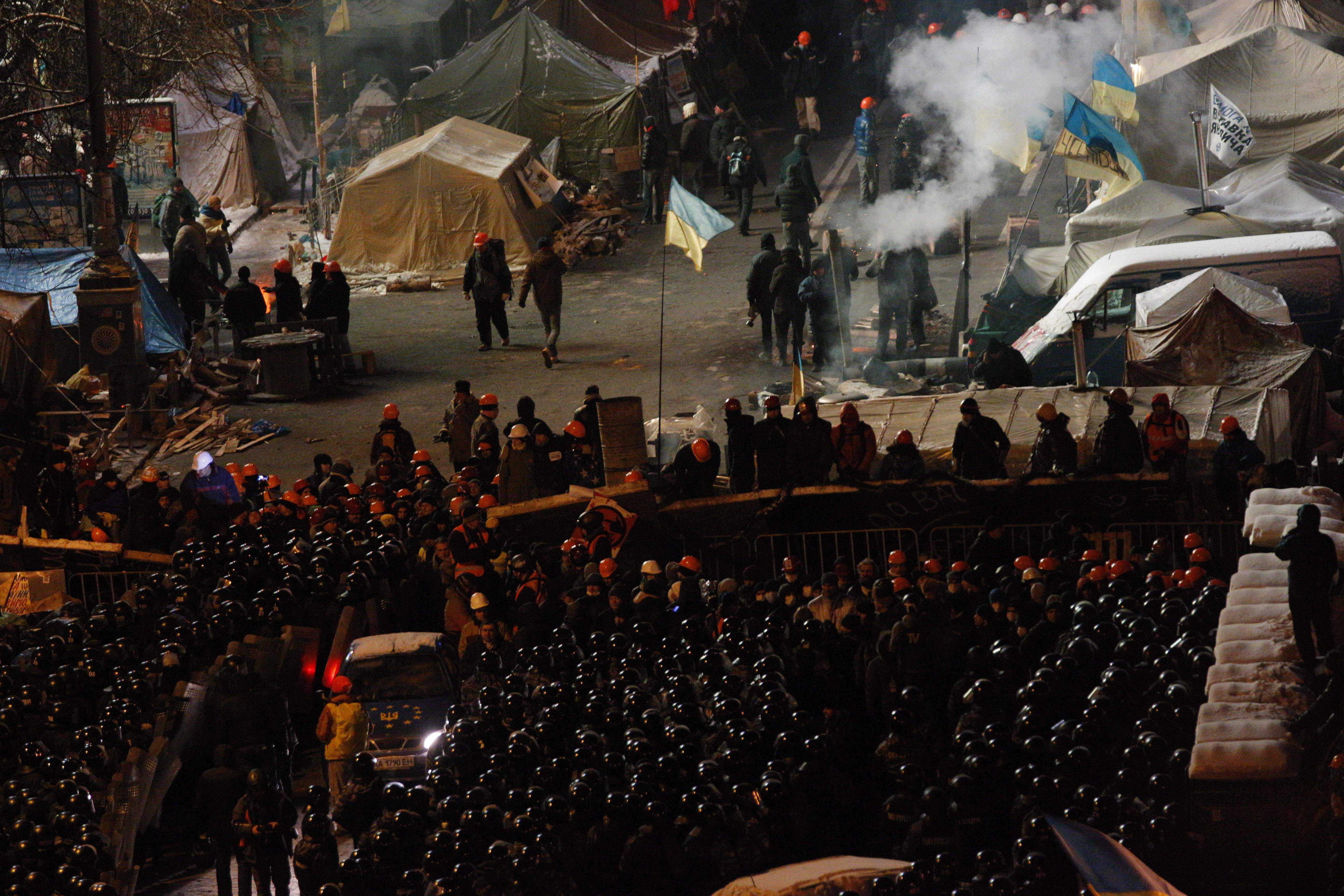 Biểu tình và khủng hoảng chính trị ở Ukraina theo dòng thời gian