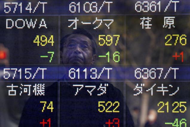 Chứng khoán châu Á tăng sau quyết định cắt giảm QE của Fed
