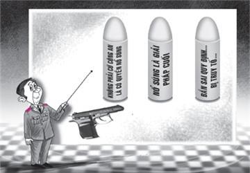 Khi nào công an được nổ súng?