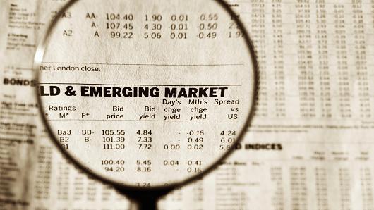 Goldman Sachs cảnh báo đầu tư vào thị trường mới nổi