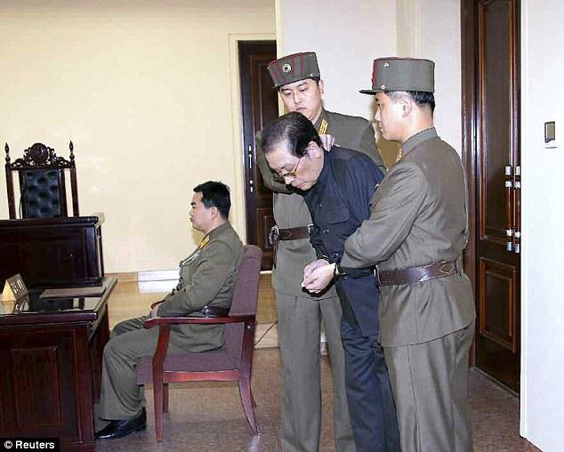 Jang bị xử tử vì quyền lợi kinh doanh