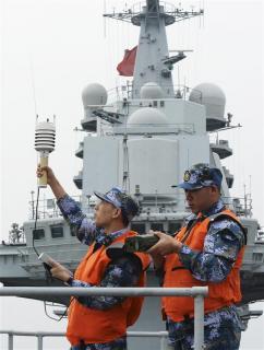 Trung Quốc hoàn thành kiểm tra hàng không mẫu hạm Liêu Ninh