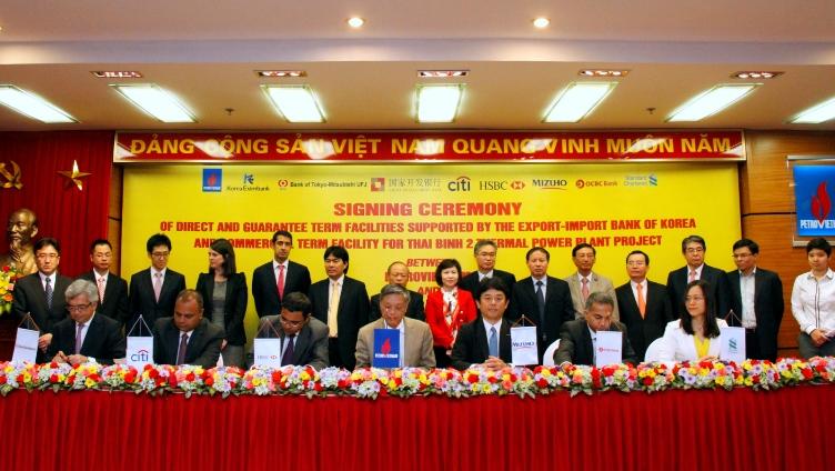PVcomBank thu xếp gần 800 triệu USD cho Dự án Nhiệt điện Thái Bình 2