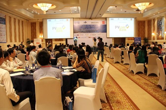 PVcomBank tài trợ chính cho Diễn đàn CFO Việt Nam 2013