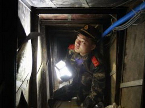 Phát hiện đường hầm buôn lậu từ Thâm Quyến vào Hồng Kông