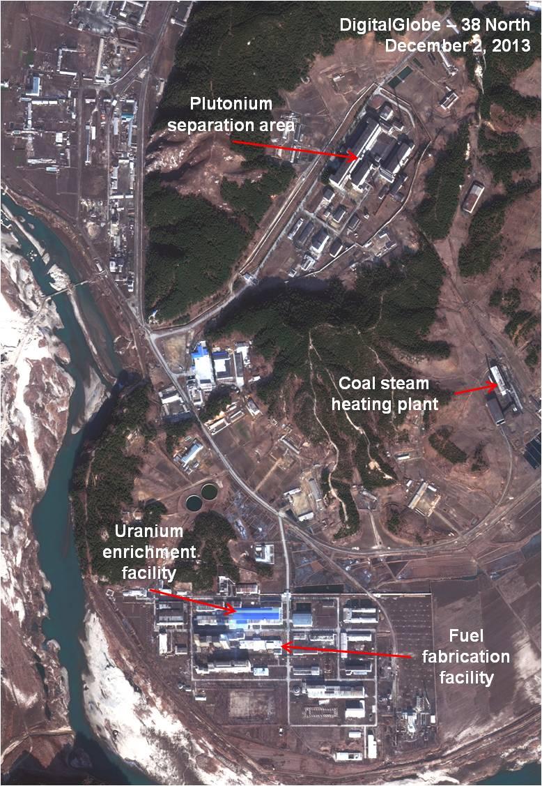Khu tổ hợp hạt nhân Yongbyon Triều Tiên có hoạt động xây mới
