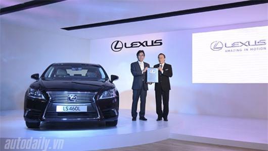 Công bố giá bán 5 mẫu xe Lexus tại Việt Nam