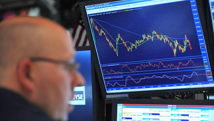 Chứng khoán Mỹ giảm từ mức cao nhất mọi thời đại