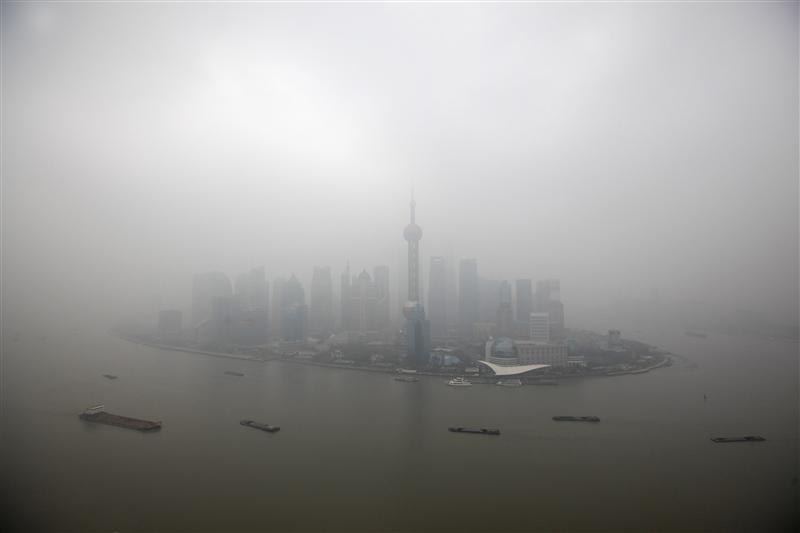 """Thượng Hải """"ô nhiễm nặng"""" gấp 6 lần chuẩn an toàn"""