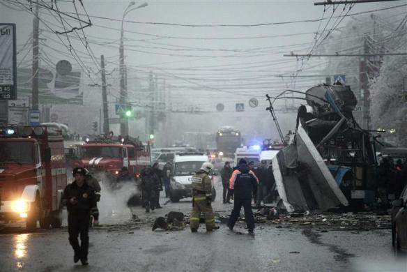 Nga: Vụ đánh bom thứ hai giết 10 người trên tàu điện Volgograd