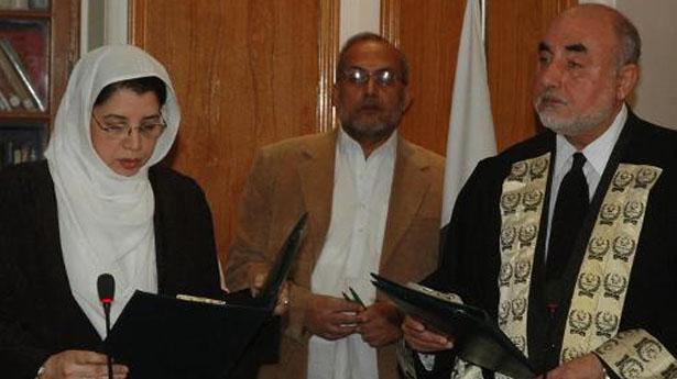 Pakistan bổ nhiệm nữ thẩm phán đầu tiên cho tòa án Hồi giáo