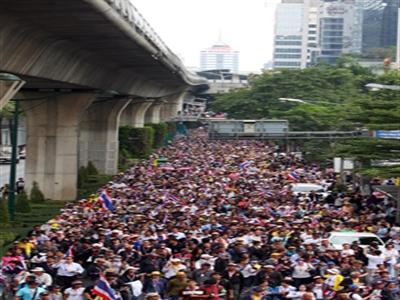 """""""Đóng cửa Bangkok"""": 20 điểm nút giao thông sẽ bị chặn"""