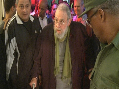 Lãnh tụFidel Castro bất ngờ xuất hiện trước công chúng