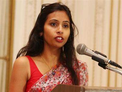 Nhà ngoại giao nữ Ấn Độ bị khám người sẽ rời Mỹ