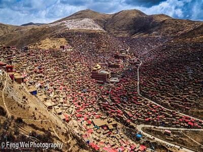 Cháy to ở học viện Phật giáo Tây Tạng lớn nhất thế giới