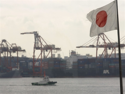 Thâm hụt cán cân vãng lai của Nhật Bản tăng gấp 3 lần trong 1 năm