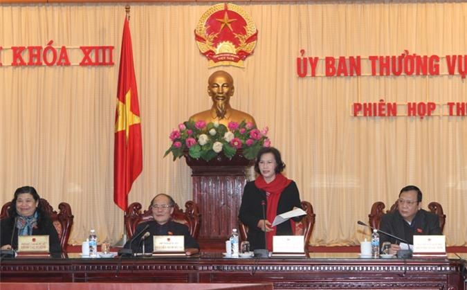 Bế mạc Phiên họp 24, UBTV Quốc hội khóa XIII