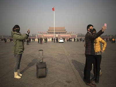 Ô nhiễm không khí Bắc Kinh ở mức nguy hiểm cao