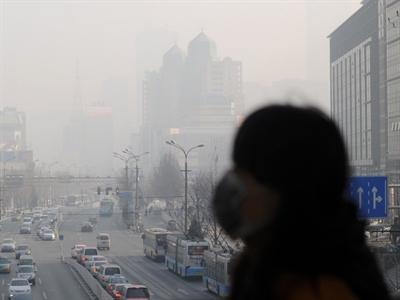 Vẽ bản đồ ô nhiễm Trung Quốc từ không gian