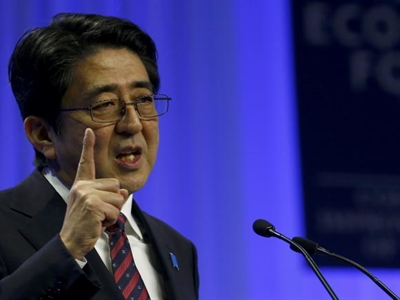 Trung Nhật đấu khẩu trên sàn hội đàm Davos