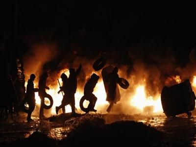 5 người chết ở Kiev sau bạo lực trong ngày Thống nhất 22/1