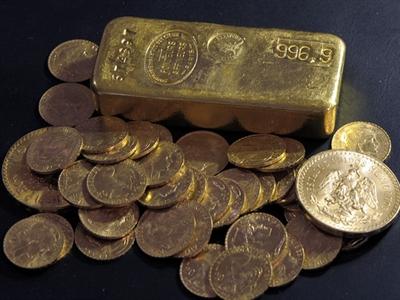 Giá vàng thế giới sụt giảm sau 2 phiên tăng liên tiếp