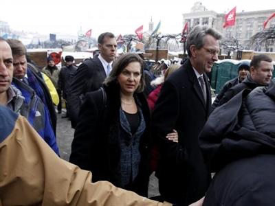 Nghe trộm quan chức Mỹ và EU nói về chính trị Ukraina