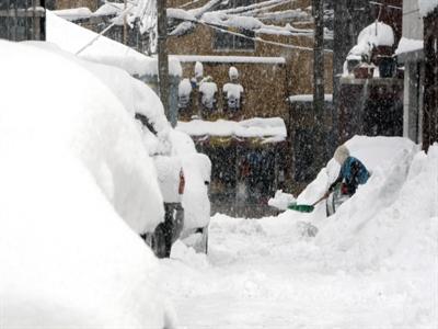 Hàn Quốc ngập chìm trong biển tuyết