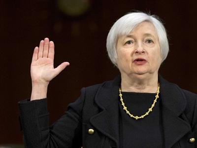 Chứng khoán Mỹ tăng sau phát biểu của tân chủ tịch Fed