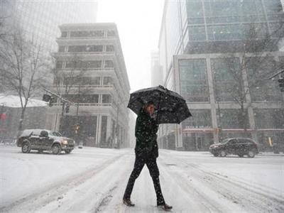 Đóng cửa Washington vì tuyết nặng hạt