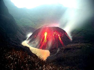 Ba sân bay Indonesia đóng cửa vì núi lửa Kelud phun trào
