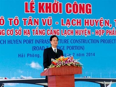 Khởi công Dự án cầu, đường vượt biển dài nhất Việt Nam