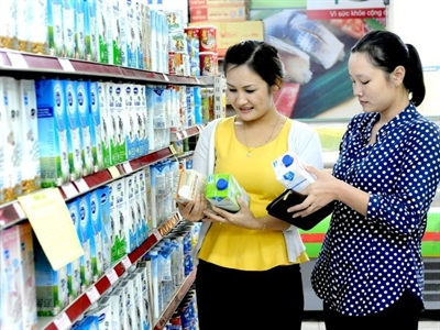 Chỉ số giá tiêu dùng tháng 2 tại TP.HCM tăng 0,24%