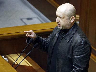 Chủ tịch Quốc hội Ukraine được bầu làm Tổng thống tạm quyền