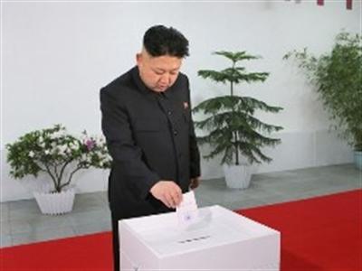 Kim Jong-Un thắng tuyệt đối trong cuộc bầu cử quốc hội