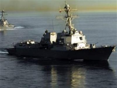 Mỹ điều tàu khu trục thứ 2 tới Biển Đông tìm máy bay mất tích