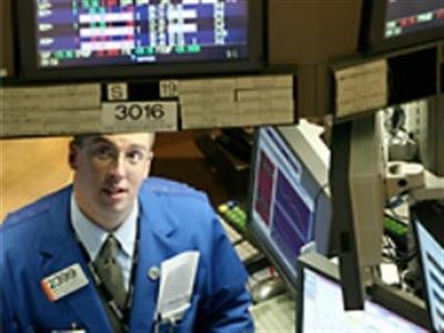 Chứng khoán Mỹ giảm theo các cổ phiếu hàng hóa nguyên liệu